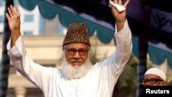 Motiur Rahman Nizami, ketua Jamaat-e-Islami, partai politik Islamis terbesar di Bangladesh. (Foto: Dok)