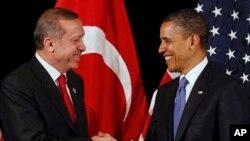 روسای جمهور امریکا و ترکیه
