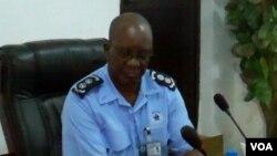 Comandante provincial da polícia Comissário António José Bernardo