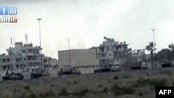 Vojna vozila libijske vlade u gradu Latakija, Sirija, 13. avgust 2011.