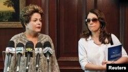 La presidente Dilma Rousseff se refirió en Chile a la tragedia y viajó de inmediato a Santa María.