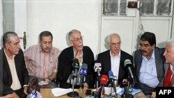 Лідери сирійської опозиції на зустрічі у Дамаску