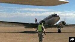 Историски настан: Цивилни пилоти во воена база