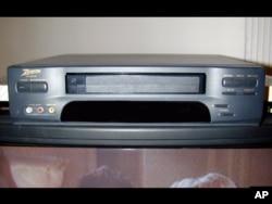 Alat video kaset. (Foto: AP)