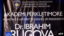 Kosovë: Pesë vjetori i vdekjes së presidentit Ibrahim Rugova