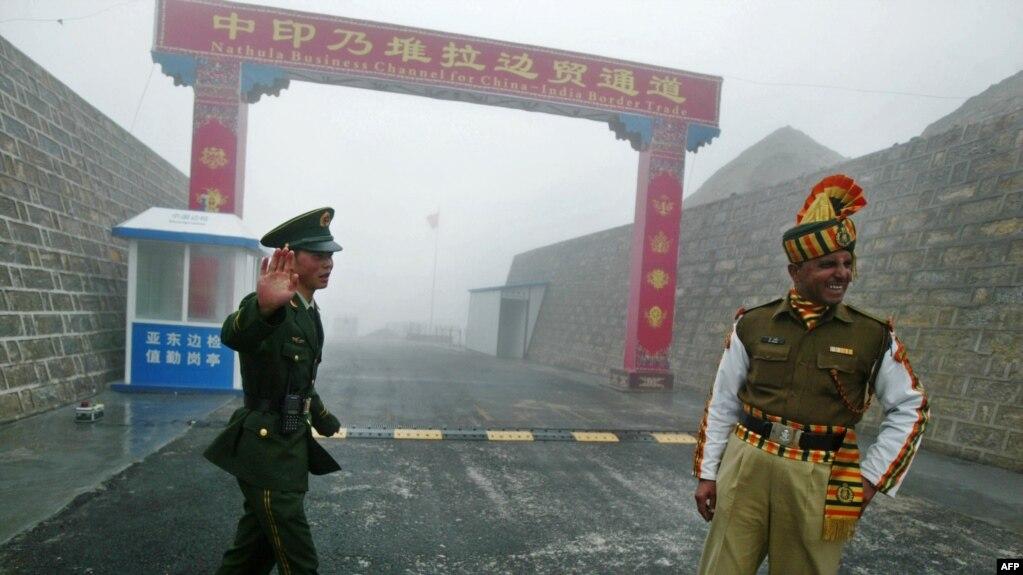 Chốt gác biên giới Nathu La giữa Ấn Độ và Trung Quốc