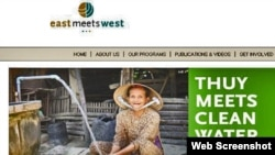 East Meets West Foundation Website