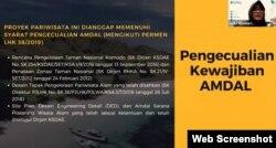 Grita Anindarini, Kepala Divisi Tata Kelola Lingkungan Hidup dan Keadilan Iklim dari Lembaga Pengembangan Hukum Lingkungan Indonesia (ICEL), Kamis, 5 Agustus 2021. (Foto: VOA)