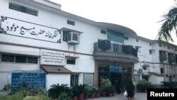 ربوہ میں احمدی کمیونٹی کے مرکز کی عمارت، فائل فوٹو