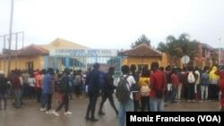 Protestos de estudantes daUniversidade Kimpa Vita, Uíge, Angola