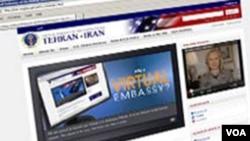 """La """"embajada virtual"""" de EE.UU. en Irán recibió más de 770 mil visitas en sólo una semana."""