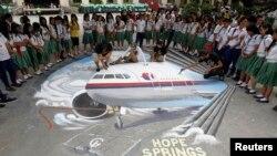 Tiếp tục tìm kiếm máy bay Malaysia mất tích