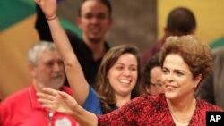 被停职的巴西总统罗塞夫