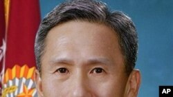 وهزیری نوێی بهرگری کۆریای باشور کیم کوان ژین، (ئهرشیفی وێنه)