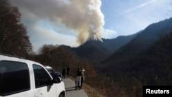 آتش سوزی در ایالت تنسی