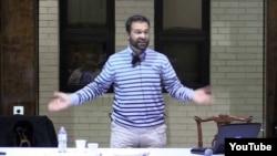 Capture d'écran d'une vidéo de Amjad Qursha, sur la plateforme Youtube le 14 juin 2016.