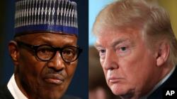 Shugaba Buhari da Shugaba Trump