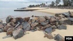 Porto da Beira, principal ponto de saída