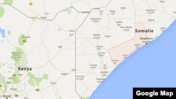 Toratorow, à 60 kilomètres au sud de la capitale somalienne Mogadiscio en Somalie.