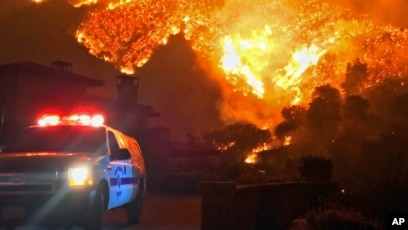 days of toil bring hard won gains over huge california fire