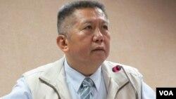 执政党国民党立委杨应雄(美国之音张永泰拍摄)