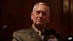 Tướng James Mattis, người đứng đầu Bộ Tư lệnh miền trung Hoa Kỳ