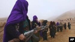 Para militan anggota kelompok teroris ISIS di Afghanistan (foto: dok).