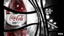 En el anuncio publicitario presenta sus diversas variedades de bebidas bajas en calorías.