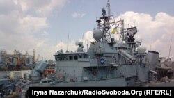 Корабли постоянной группы быстрого реагирования НАТО в порту Одессы. 23 июля 2018 г.