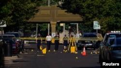 Istražitelji na mestu masovnog ubistva u Dejtonu, Ohaju