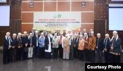 Pimpinan PTKIN se-Indonesia dalam pertemuan di Yogyakarta. (Foto courtesy: Humas UIN Suka)