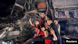 Ngưng bắn tại Gaza.