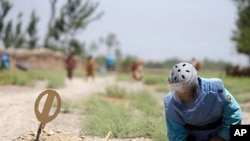 محکومیت مرگ ماین روبان توسط ملل متحد