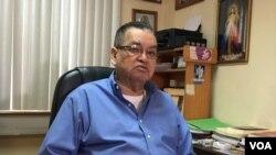 Subprocurador para la defensa de los derechos humanos de Nicaragua, Adolfo Jarquín Ortel. Foto: Daliana Ocaña - VOA.
