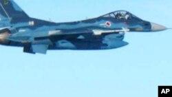 Một chiến đấu cơ F-2 của Lực lượng Không quân Phòng vệ Nhật Bản (JASDF).