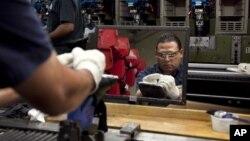 En enero hubo una sólida demanda de numerosos bienes manufacturados.