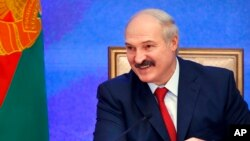 Presiden Belarus Alexander Lukashenko.