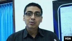 Pengamat korupsi dari Pusat Kajian Anti Korupsi, Zainal Arifin Mochtar (VOA/Nurhadi)