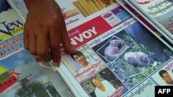 Báo chí Miến Điện đã có thể tường trình 1 số tin về bà Aung San Suu Kyi