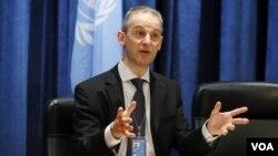 Juru bicara PBB Martin Nesirky mengatakan tujuan zona di Kongo adalah untuk memberikan perlindungan lebih baik bagi warga sipil (foto: dok).