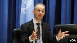 Juru bicara PBB, Martin Nesirky, hari Senin mengatakan perlucutan senjata yang mengakhiri perang Korea masih berlaku (foto: dok).