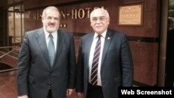 İsa Qəmbər və Refat Çubarov