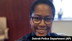 Elaine Bryant dalam foto yang dirilis oleh Kepolisian Detroit. Bryant diangkat menjadi Kepala Kelolisian Kota Columbus, di Ohio, 2 Juni 2021. (Foto: Detroit Police Department/AP)