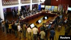 Venezuela se encuentra en una amplia crisis diplomática por la Asamblea Nacional Constituyente liderada por el Gobierno de Maduro.