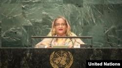 Sheikh Hasina addresses UNGA