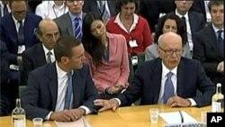 邓文迪陪同丈夫出席英国议会听证会
