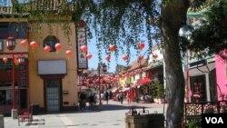 洛杉矶中国城