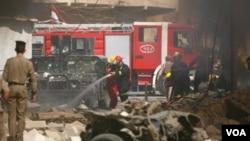 No está claro cuál era el objetivo de estos ataques y hasta el momento nadie se atribuyó responsabilidad por los atentados.