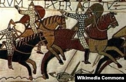 French began to enter the English language after the Normans invaded Britain in 1066.