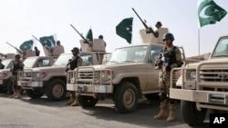 ارتش پاکستان هزاران تندرو را در مناطق قبایلی آن کشور از بین برده است.